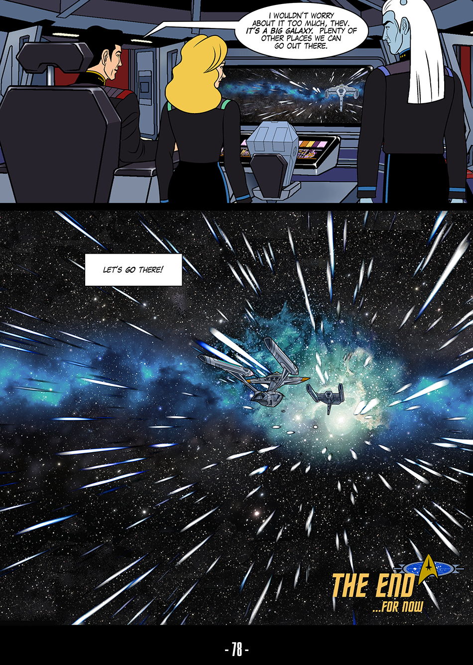 Enterprise-G  Episode 1  Where No Man Can Go  Page 78